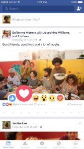 تطبيق الفيس بوك للايفون