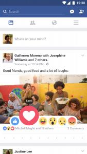تطبيق الفيس بوك للاندرويد