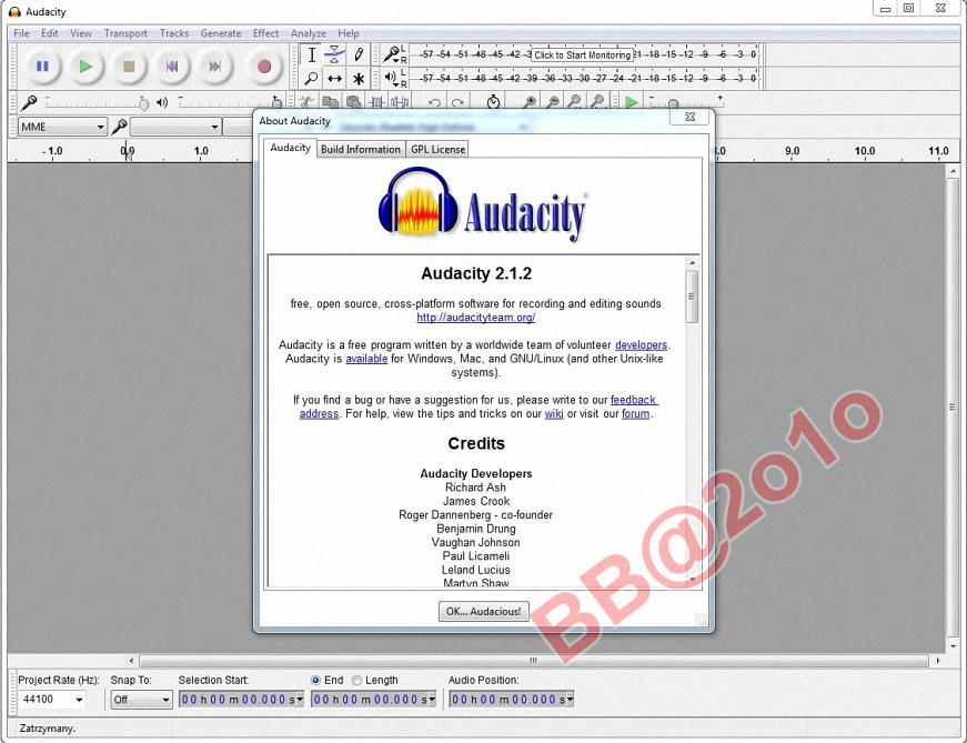 تحميل برنامج audacity 1.3 beta