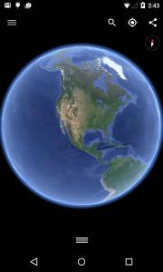 برنامج جوجل ايرث للاندرويد