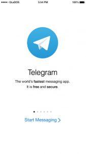 برنامج تيليغرام للايفون