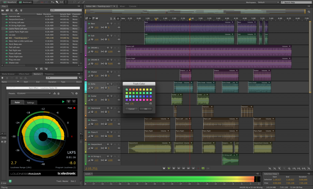 برنامج adobe audition cc