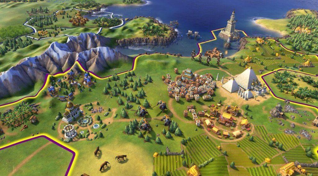 لعبة civilization 6