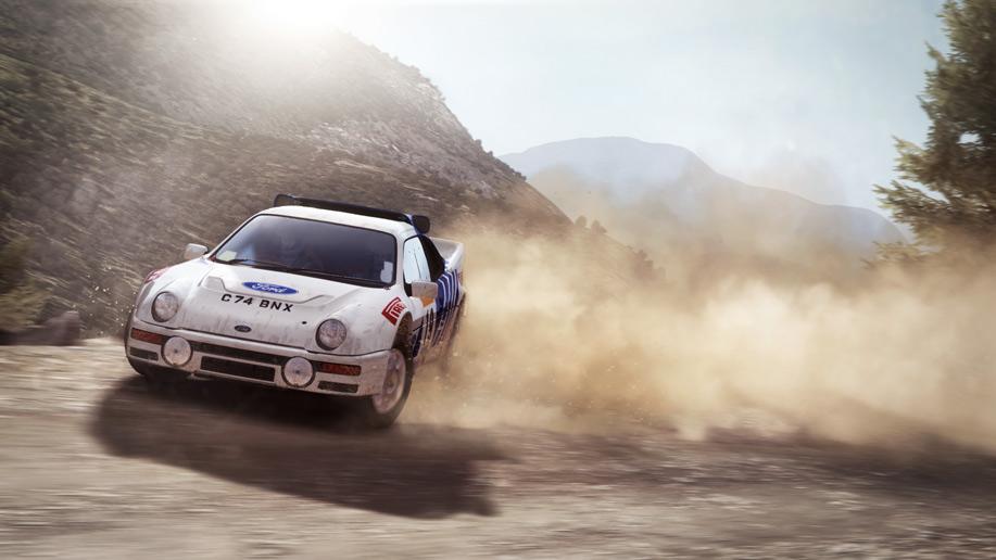 لعبة dirt rally