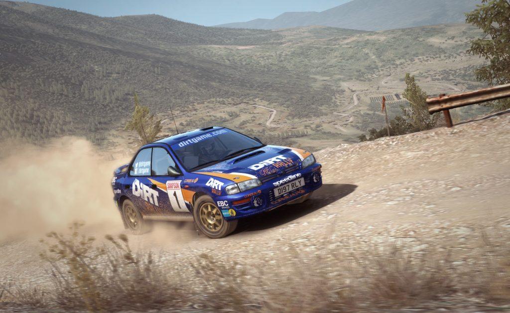 لعبة dirt rally السيارات