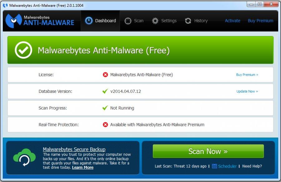 برنامج malwarebytes anti-malware
