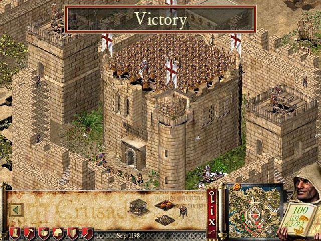 تحميل لعبة stronghold crusader
