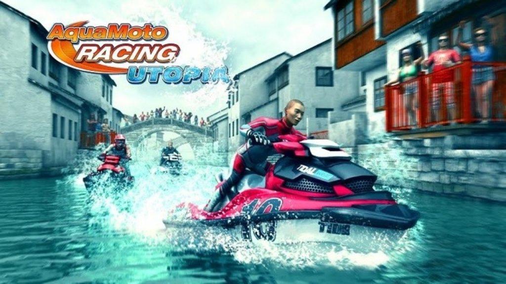 تحميل لعبة aqua moto racing