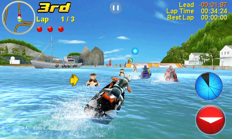 تحميل لعبة aqua moto racing اونلاين