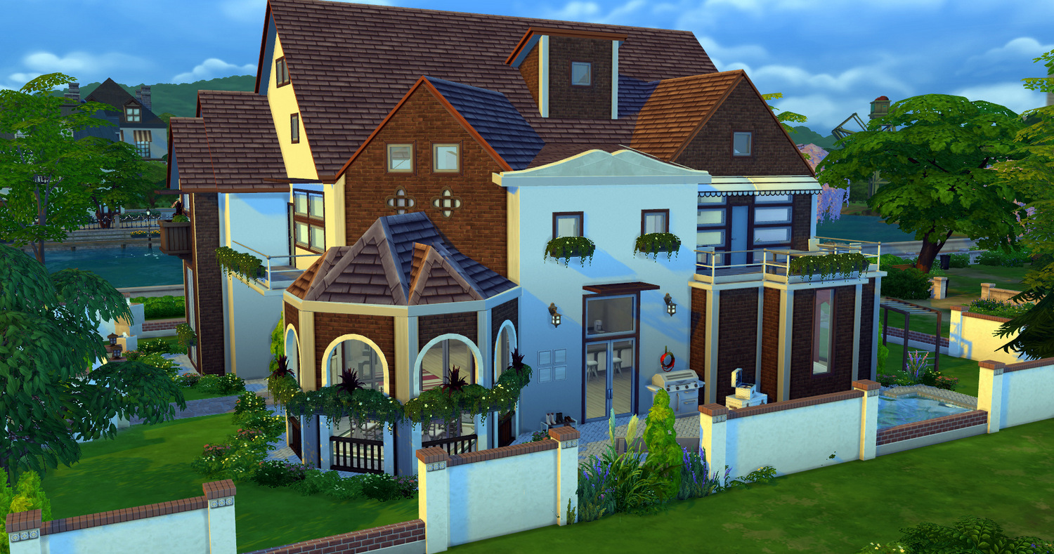 Sims 4 4 - Design my dream home online free ...