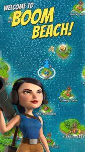 لعبة boom beach