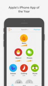 تطبيق تعلم اللغات