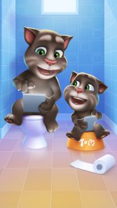لعبة my talking tom apk