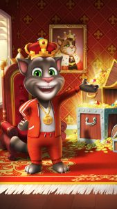 لعبة my talking tom للايفون